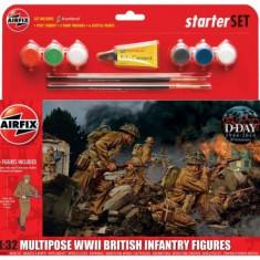 Kit Constructie Infanterie Britanica - Set de constructie Airfix