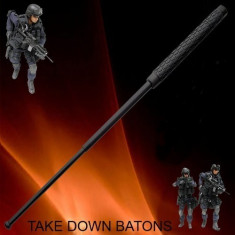 BASTON Telescopic Profesional. Made in SUA. Baston TakeDown Police.
