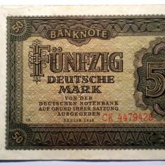 172 GERMANIA RDG DDR 50 DEUTSCHE MARK 1948 SR. 428 - bancnota europa