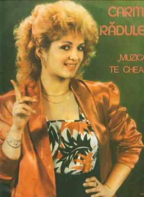 -Y- CARMEN RADULESCU - MUZICA TE CHEAMA - DISC VINIL LP foto