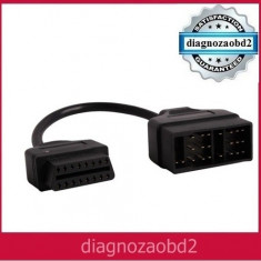 Cablu adaptor Toyota 22 pini  -  interfata diagnoza  tester auto OBD2