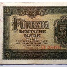179 GERMANIA RDG DDR 50 DEUTSCHE MARK 1948 SR.941 - bancnota europa
