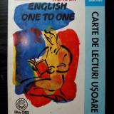 English One to One - Carte de lecturi usoare - Curs Limba Engleza