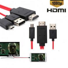 MHL HDMI Samsung Galaxy S4 i9500, Samsung Galaxy S5, Samsung Note 4 - Adaptor HDTV