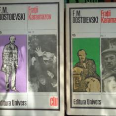 Fratii Karamazov 2 vol- Dostoievski, F.M. Dostoievski