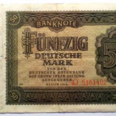 173 GERMANIA RDG DDR 50 DEUTSCHE MARK 1948 SR. 402 - bancnota europa