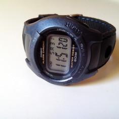 Ceas casio w-43h, modul 2275, Original. - Ceas barbatesc Casio, Sport, Quartz, Cauciuc, Cronograf, Electronic