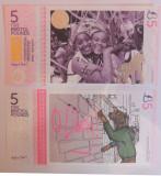 SV * UK / Marea Britanie  5  BRISTOL  POUNDS  2015   UNC  -  bancnota regionala