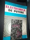 ELECTRONICA  DE PUTERE APLICATII - GALATEANU , PANTELIMON