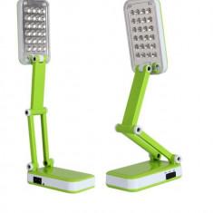 Lampa de birou pliabila cu led-uri - Corp de iluminat, Lampi