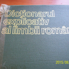 Dex- dictionarul explicativ al limbii romane- 1975