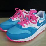 Adidasi sport originali dama NIKE AIRMAX - piele naturala-adidasi femei -37.5 - Adidasi dama Nike, Culoare: Multicolor