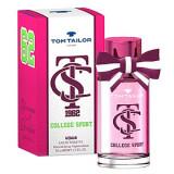 Tom Tailor College Sport Woman EDT 30 ml pentru femei, Apa de toaleta, Oriental, Tom Tailor
