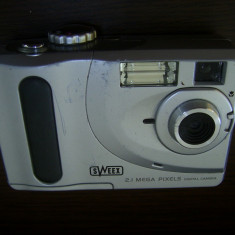 CAMERA FOTO SWEEX 2.1 MEGA PIXELS DIGITAL CAMERA MODEL VC2110, FUNCTIONEAZA . - Aparate foto compacte