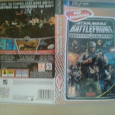 Joc PSP - Star Wars Battlefront Renegade Squadron - Essentials ( GameLand ) - Jocuri PSP, Actiune, 12+, Single player