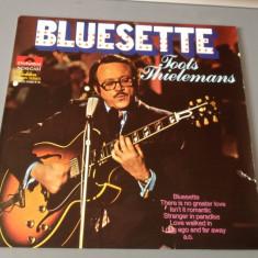 TOOTS THIELEMANS - BLUESETTE (1986/ POLYDOR REC/ RFG) - IMPECABIL- VINIL/VINYL - Muzica Rock universal records