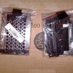 Caddy + bumper x 2+ capac  hard disk + suruburi laptop Lenovo IBM T60 T60p - nou
