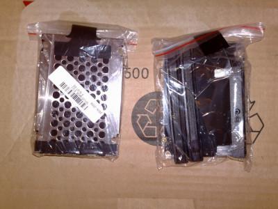 Caddy + bumper x 2+ capac  hard disk + suruburi laptop Lenovo IBM T60 T60p - nou foto