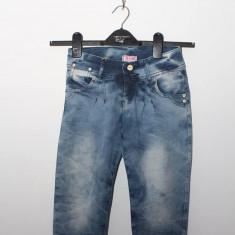 Vand pantaloni scurti tip blug - Blugi dama, Marime: 26, 27, 28, 30, Culoare: Albastru, 3/4