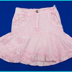 FUSTITA VARA, talie reglabila, bumbac tip balon, G&S → fetite | 5—6 ani | 116 cm, Marime: Alta, Culoare: Roz