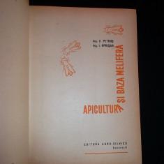 Apicultura si baza melifera(carte stuparit)-V.Petrus,I.Oprisan (cartonat)