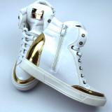 Sneakers club dama - Ghete dama, Culoare: Alb, Marime: 41