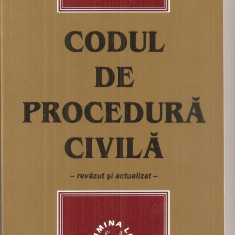 (C6240) CODUL DE PROCEDURA CIVILA 2005 - Carte Drept civil