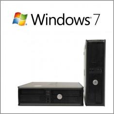 CALCULATOARE REFURBISHED DELL OPTIPLEX 360DT E7400 2.80GHZ CU WINDOWS 7 HOME - Sisteme desktop fara monitor, Intel Core 2 Duo, 2501-3000Mhz, 2 GB, 100-199 GB, LGA775