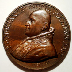 C.457 ITALIA VATICAN MEDALIE PAPA IOANNES XXIII 1958 BRONZ 44mm MISTRUZZI, Europa, An: 1954
