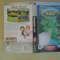 Everybody's Golf PLATINUM - Joc PSP ( GameLand ) - Jocuri PSP, Sporturi, 3+, Single player