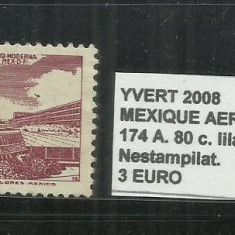 MEXIC 1950-52 - 174 A. 80 C., Nestampilat