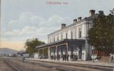CAMPINA  ,  GARA , CIRCULATA 1936  FELDPOST, Printata