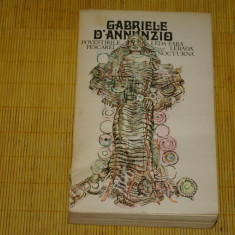 Povestirile Pescarei - Leda fara lebada - Nocturna - Gabriele D'Annunzio - 1980 - Roman