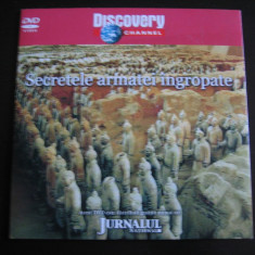 Secretele armatei ingropate - DVD - Film documentare Altele, Romana