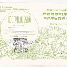 Bnk fil Diploma Expo fil Ocrotiti natura Busteni 1986