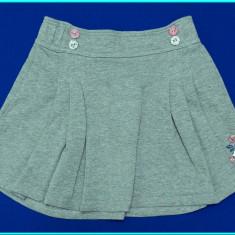 FRUMOASA → Fusta / fustita, tricot bumbac, TIK & TAK → fete | 6—7 ani | 122 cm, Marime: Alta, Culoare: Gri