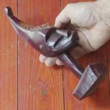 Statueta / Sculptura lemn arta africana - model deosebit !!!!!