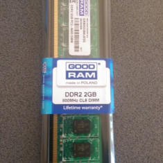 Memorie Good Ram 2 Gb DDR2 sigilata cu garantie - Memorie RAM Goodram, 800 mhz