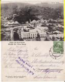 Vatra Dornei (Bucovina, Suceava)- Vedere generala - cenzura, rara, Circulata, Printata
