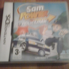 Sam Power - Policeman - Joc Nintendo DS ( GameLand ) - Jocuri Nintendo DS, Actiune, 3+, Single player