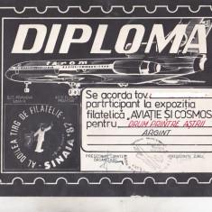 Bnk fil Diploma Expo fil Aviatie si cosmos Sinaia 1987