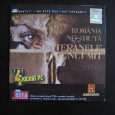 Romania nestiuta - Subteranele unui mit - DVD - Film documentare Altele, Romana