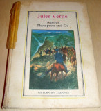 Agentia Thompson and Co - Jules Verne / nr.33