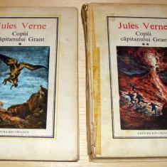 Copii Capitanului Grant - Jules Verne / 2 volume - Carte de povesti