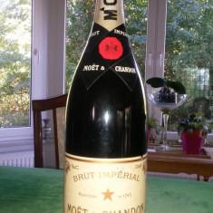 Sampanie de colectie Moet & Chandon brut imperial Magnum-3 litri-1980