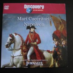 Mari cuceritori: Napoleon - DVD - Film documentare Altele, Romana