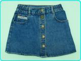 Fusta—fustita blugi, frumoasa, de calitate, TOUGH → fete | 7—8 ani | 122—128 cm, Alta