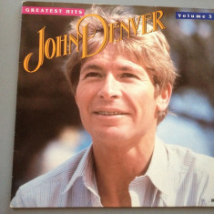 JOHN DENVER - GREATEST HITS 3 (1984/RCA REC/ RFG)- VINIL/IMPECABIL/VINYL/COUNTRY - Muzica Rock rca records