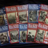 Lot figurine soldati rusi din plumb/reviste/ colectie/decor/colectie/machete