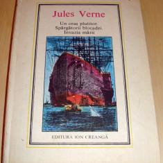 Un oras plutitor / Spargatorii blocadei / Invazia marii - Jules Verne / nr.35